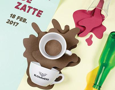 Poster design   De latte & de zatte 2017