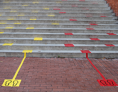 Interactive Stairs: Icons and Color