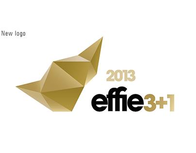 "visual design for Effie ""3+1"" event"
