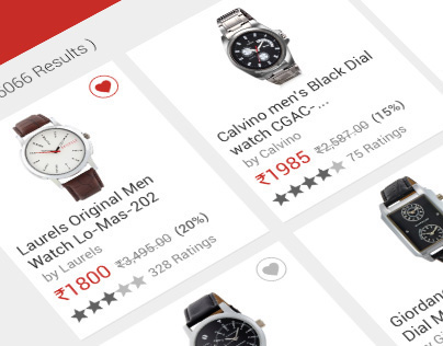 Snapdeal Product Screen