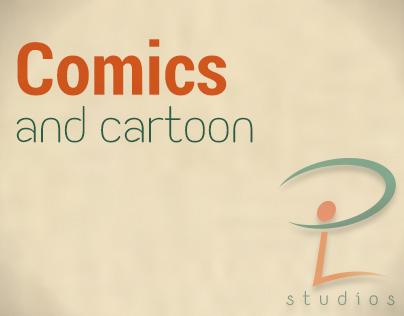 Cartoon and comics
