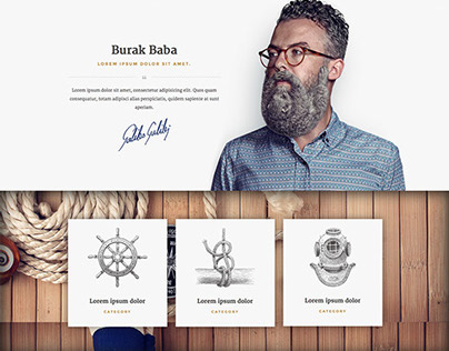 Yacht - Bootstrap/HTML5 template