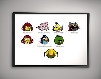 Angry Bird : Avangers Assemble