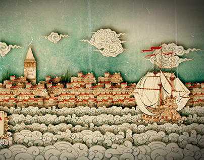 Istanbul (Miniature Painting With Animation)