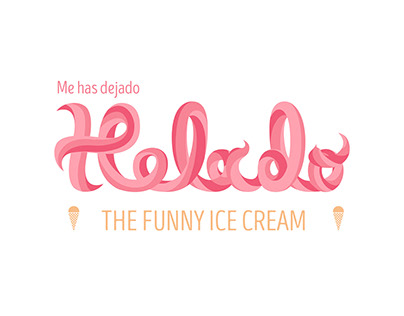 Me has dejado helado - The funny ice cream