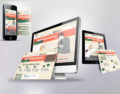 web responsive - Microsite promocional
