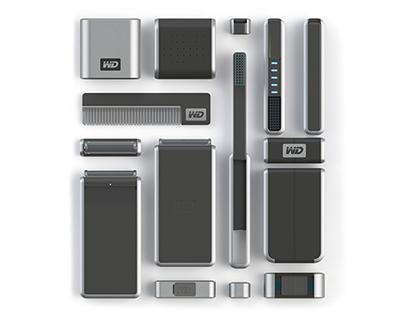 Western Digital travel kit