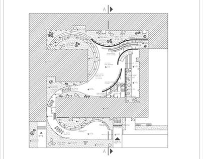 Hacettepe Uni. Faculty Building / Courtyard Design /'13