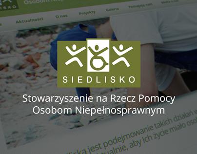 Stowarzyszenie Siedlisko - Web design