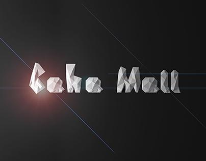 Mall Architectural Visualization.