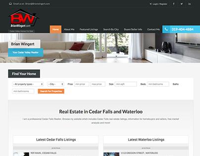 Professional Realtor Website   WordPress Real Estate