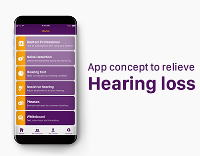App concept to relieve hearing loss