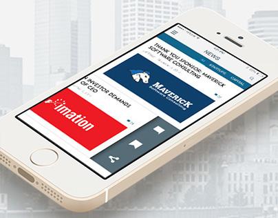 Tech{dot}MN App Design