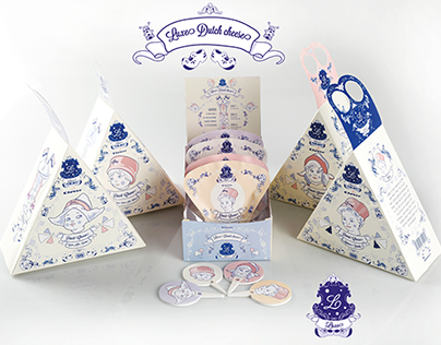 Packaging design: Luxe Dutch cheese