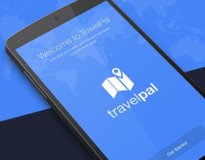 TravelPal app design
