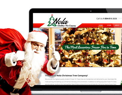 Website for Online Christmas Tree Selling