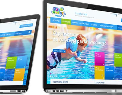 Park Wodny website concept