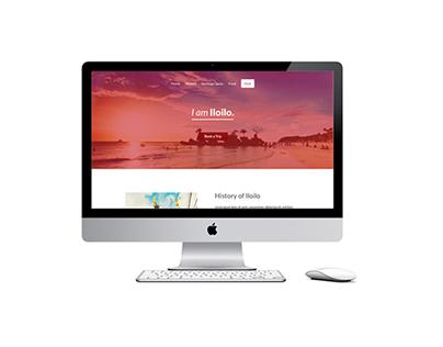 #IamIloilo Website Design