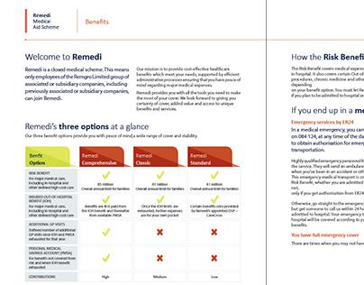 Medical Aid Brochure