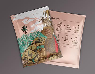 Packaging │ 咖啡濾泡包Coffee Bag