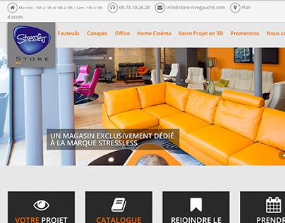 Stressless store - website