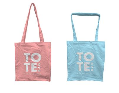 FREE Tote Bag Mockup Template