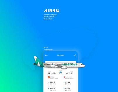 UX - AIR4U app building project