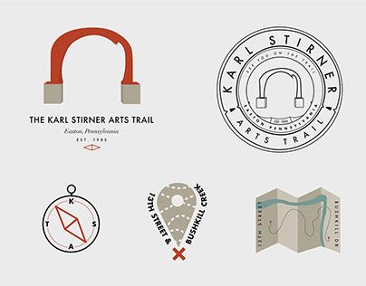 Arts Trail Emblem and Icons