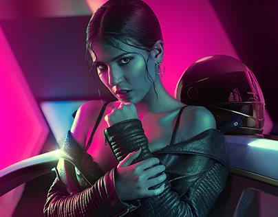 Neon Demon · Photography + Retouch + CGI