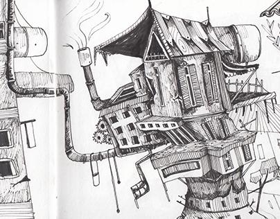 Sketchbook // Environmental Design