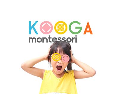 Kooga Montessori Branding