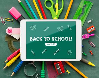 Mockups - Back to school!