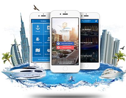 UI / UX Yacht Club App & Website