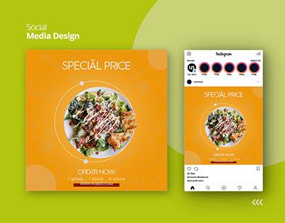 Food post design