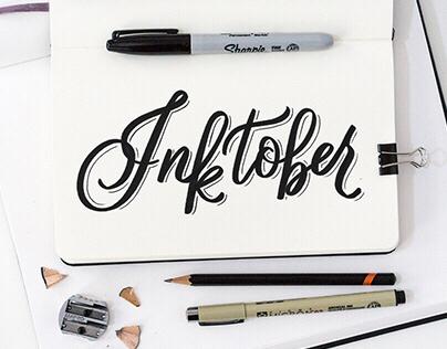 Inktober - Lettering Series