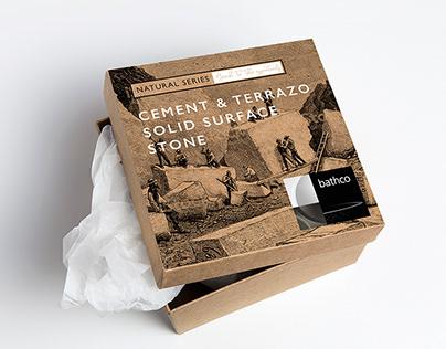 Packaging proyecto elementos para el baño