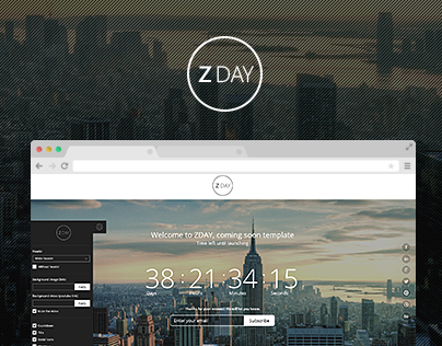 ZDAY - coming soon theme
