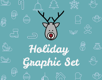 Holiday Graphic Set