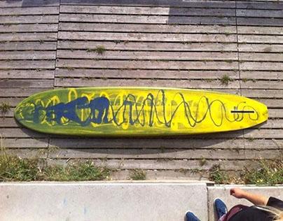 Surfboard Shaping 2: Swirls op het Malieveld