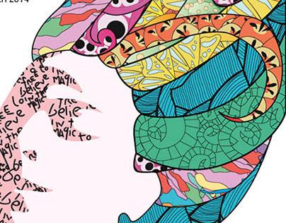 Hippies Art Poster