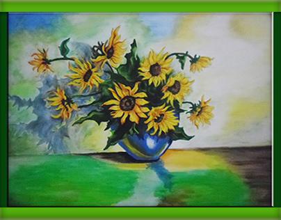 Obraz-flowers