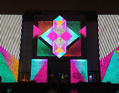 Moscú Light Festival, Re[focus] video mapping