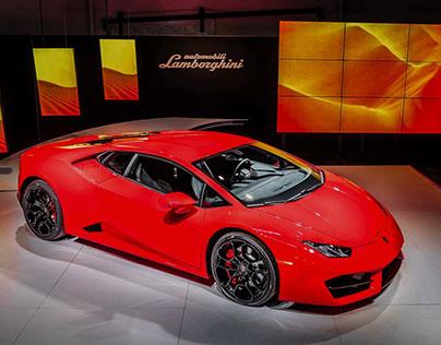 Lamborghini Huracan Reveal
