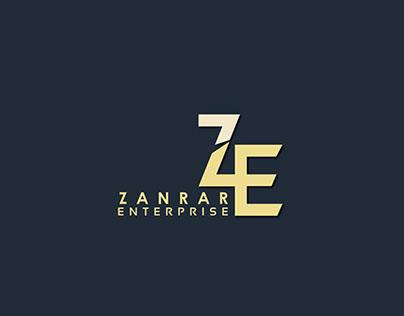 Zanrar Logo Design