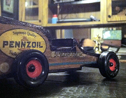 Boy Scouts Pinewood Derby Racer Design. Best of Show!