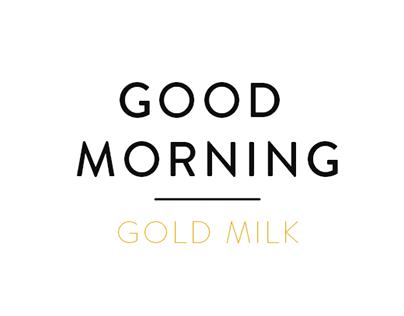 Good Morning Gold milk
