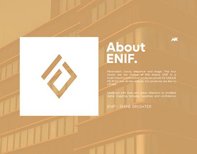ENIF - BRAND IDENTITY