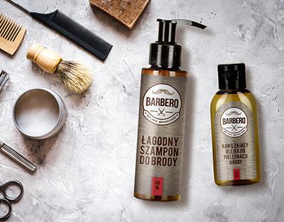 BARBERO - wąsy i broda
