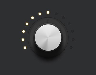Audio Rotary Knob Control