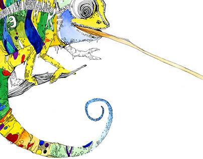 Just chameleon